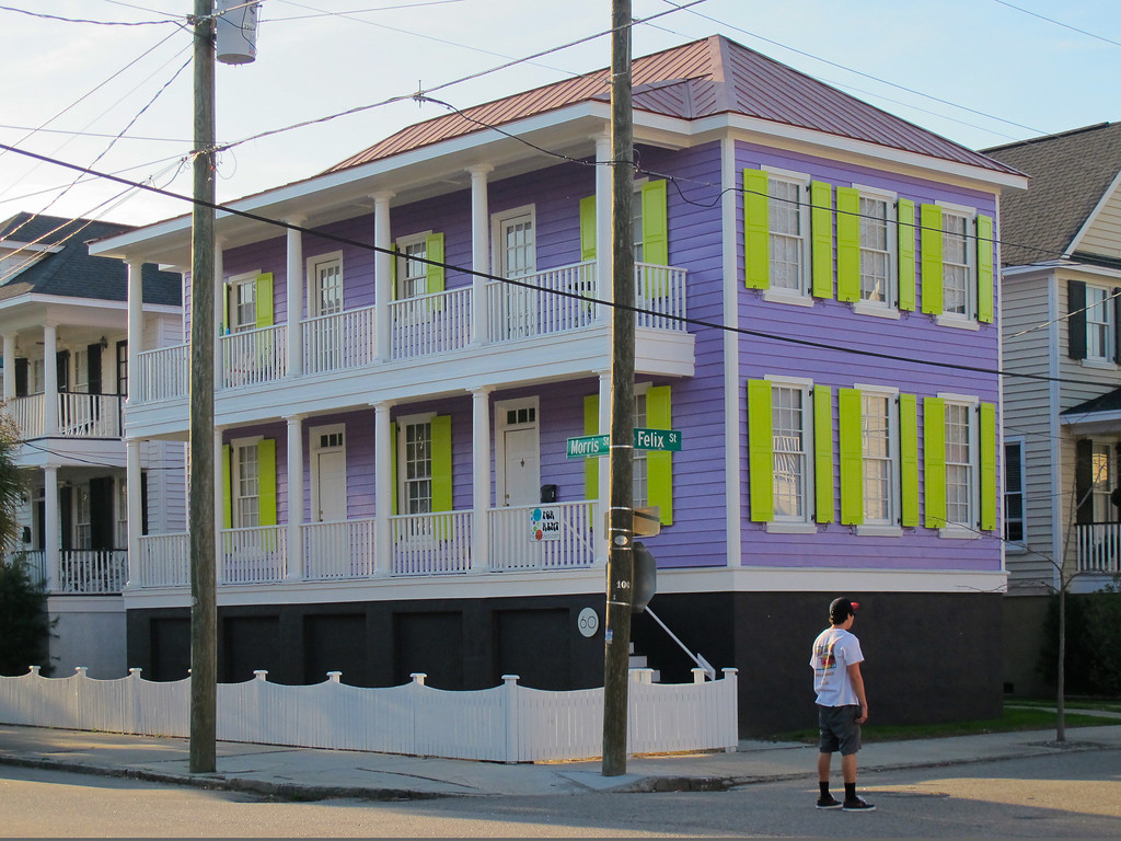 What color can I paint my home in Historic Charleston?